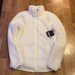 FILA WHITE ZIPP UP Jacket